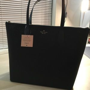 Brand New Kate Spade Tote Bag-Black